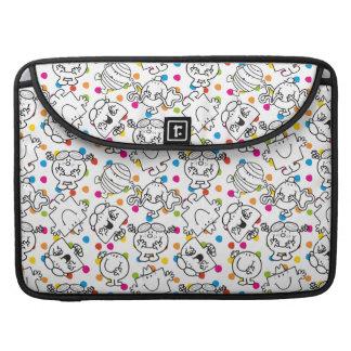 Mr Men & Little Miss | Rainbow Polka Dots Pattern Sleeve For MacBooks