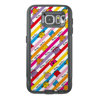 Mr Men & Little Miss | Rainbow Stripes Pattern OtterBox Samsung Galaxy S6 Case