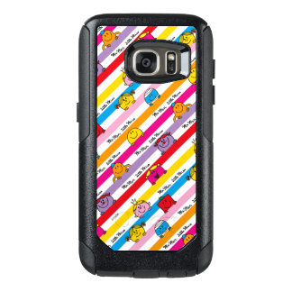 Mr Men & Little Miss | Rainbow Stripes Pattern OtterBox Samsung Galaxy S7 Case