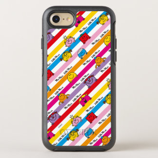 Mr Men & Little Miss   Rainbow Stripes Pattern OtterBox Symmetry iPhone 7 Case