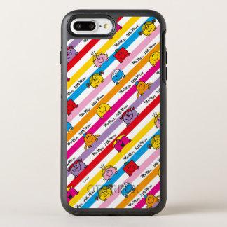 Mr Men & Little Miss | Rainbow Stripes Pattern OtterBox Symmetry iPhone 8 Plus/7 Plus Case
