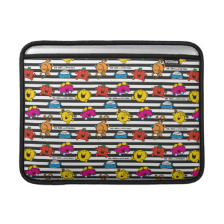 Mr Men & Little Miss | Stripes Pattern MacBook Air Sleeves