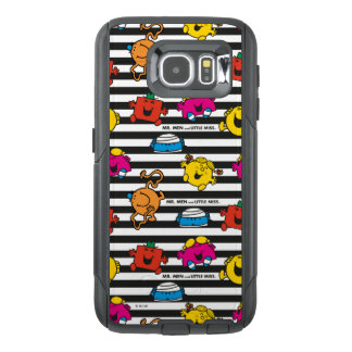Mr Men & Little Miss | Stripes Pattern OtterBox Samsung Galaxy S6 Case