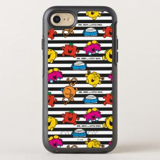 Mr Men & Little Miss   Stripes Pattern OtterBox Symmetry iPhone 7 Case