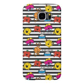 Mr Men & Little Miss | Stripes Pattern Samsung Galaxy S6 Case