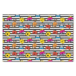 Mr Men & Little Miss | Stripes Pattern Tissue Paper