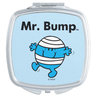 Mr. Men | Mr. Bump is a Clutz Compact Mirror