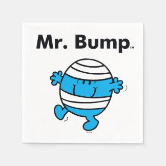 Mr. Men | Mr. Bump is a Clutz Disposable Napkin