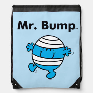 Mr. Men | Mr. Bump is a Clutz Drawstring Bag
