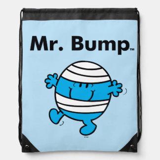 Mr. Men | Mr. Bump is a Clutz Drawstring Bag