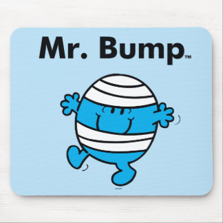 Mr. Men | Mr. Bump is a Clutz Mouse Pad
