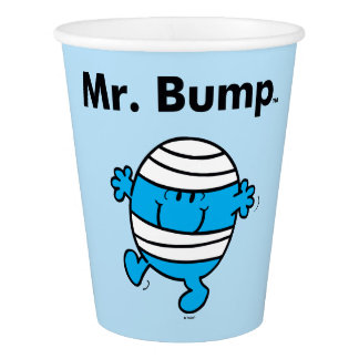 Mr. Men | Mr. Bump is a Clutz Paper Cup