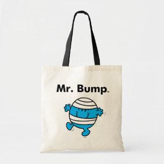 Mr. Men   Mr. Bump is a Clutz Tote Bag