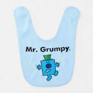 Mr. Men | Mr. Grumpy is a Grump Bib