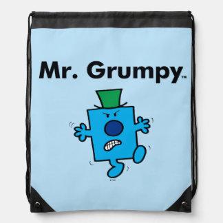 Mr. Men | Mr. Grumpy is a Grump Drawstring Bag
