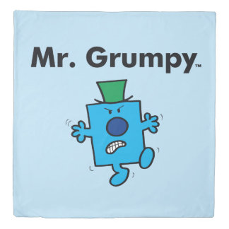 Mr. Men | Mr. Grumpy is a Grump Duvet Cover