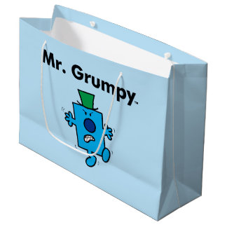 Mr. Men | Mr. Grumpy is a Grump Large Gift Bag