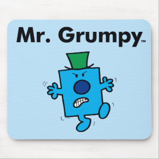 Mr. Men | Mr. Grumpy is a Grump Mouse Pad