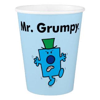Mr. Men | Mr. Grumpy is a Grump Paper Cup