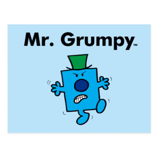 Mr. Men | Mr. Grumpy is a Grump Postcard