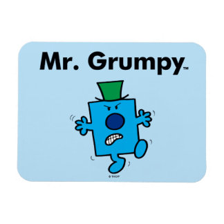 Mr. Men | Mr. Grumpy is a Grump Rectangular Photo Magnet