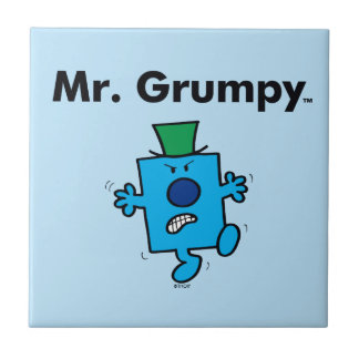 Mr. Men | Mr. Grumpy is a Grump Tile