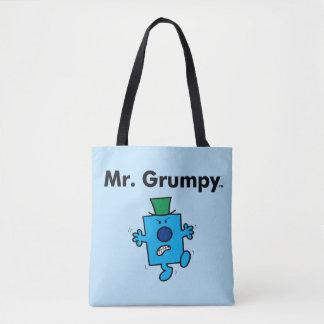 Mr. Men | Mr. Grumpy is a Grump Tote Bag