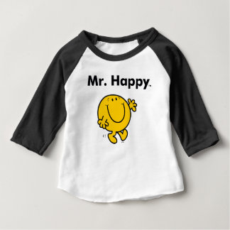 Mr. Men | Mr. Happy Is Always Happy Baby T-Shirt
