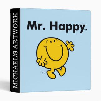 Mr. Men | Mr. Happy Is Always Happy Binders