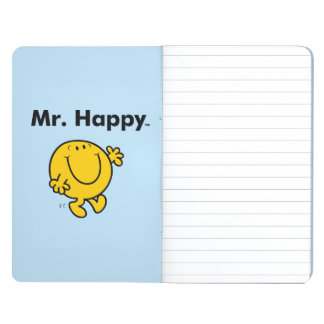 Mr. Men | Mr. Happy Is Always Happy Journal