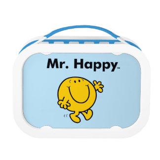 Mr. Men | Mr. Happy Is Always Happy Lunch Box