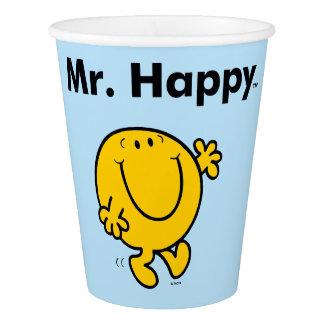 Mr. Men | Mr. Happy Is Always Happy Paper Cup