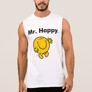 Mr. Men | Mr. Happy Is Always Happy Sleeveless Shirt