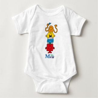 Mr. Men | Mr. Men Standing Tall Baby Bodysuit