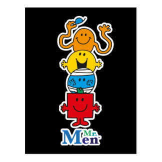 Mr. Men | Mr. Men Standing Tall Postcard
