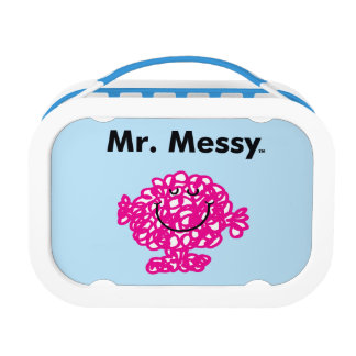 Mr. Men | Mr. Messy Is Cute, But Messy Lunch Box