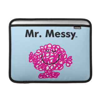 Mr. Men | Mr. Messy Is Cute, But Messy Sleeve For MacBook Air