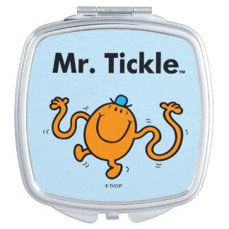 Mr. Men | Mr. Tickle Will Tickle Makeup Mirror