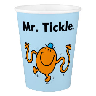 Mr. Men | Mr. Tickle Will Tickle Paper Cup
