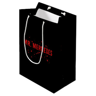 Mr. Mercedes Logo Medium Gift Bag