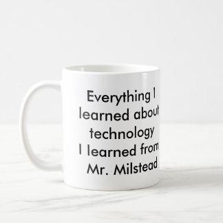 Mr. Milstead technology mug