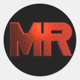 MR.MINER Logo Sticker
