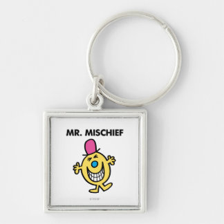 Mr. Mischief | Smiling Gleefully Keychain