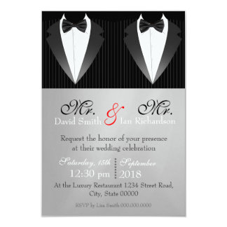Mr. & Mr. Bow Card