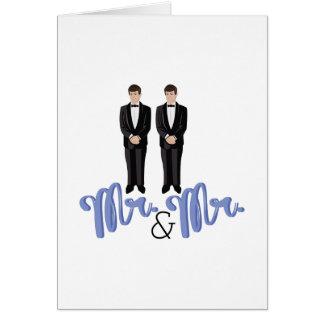 Mr.& Mr. Card