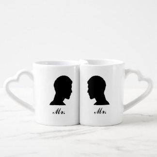 Mr./Mr. Nesting Mug Set Lovers Mug Sets