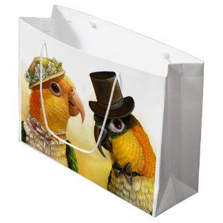 Mr & Mrs Caique Large Gift Bag