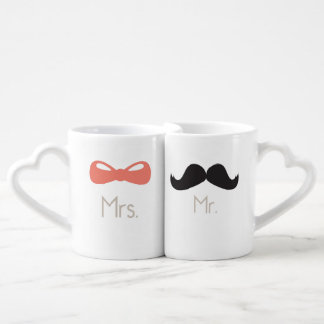 Mr & Mrs {Love Mugs} Coffee Mug Set