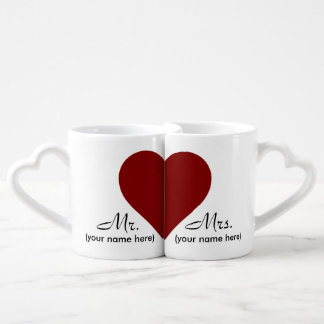 Mr & Mrs Lover's Coffee Mugs