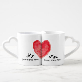 Mr & Mrs Lovers Mugs
